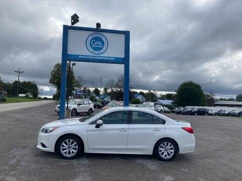 2017 Subaru Legacy for sale at Corry Pre Owned Auto Sales in Corry PA