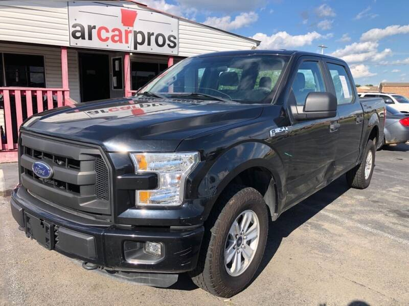 2016 Ford F-150 for sale at Arkansas Car Pros in Cabot AR