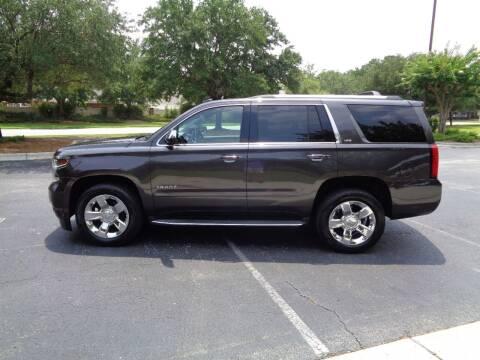 2015 Chevrolet Tahoe for sale at BALKCUM AUTO INC in Wilmington NC