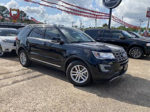 2016 Ford Explorer for sale at Direct Auto in D'Iberville MS
