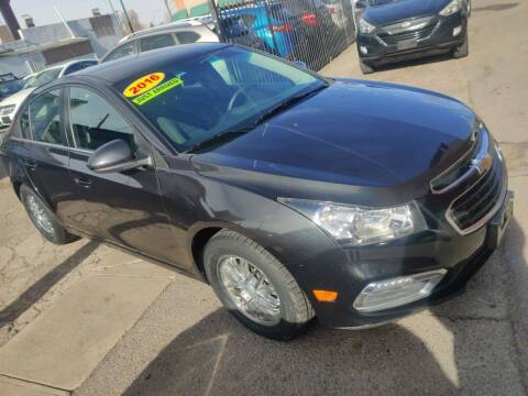 2016 Chevrolet Cruze Limited for sale at Sanaa Auto Sales LLC in Denver CO