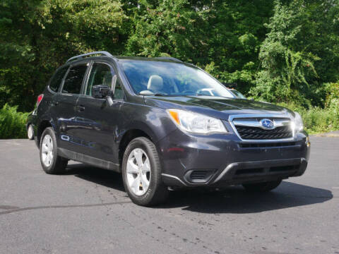 2015 Subaru Forester for sale at Canton Auto Exchange in Canton CT