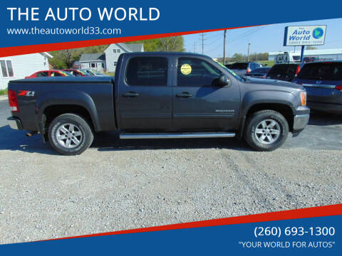 2010 GMC Sierra 1500 for sale at THE AUTO WORLD in Churubusco IN