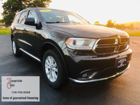 2015 Dodge Durango for sale at Transportation Center Of Western New York in Niagara Falls NY