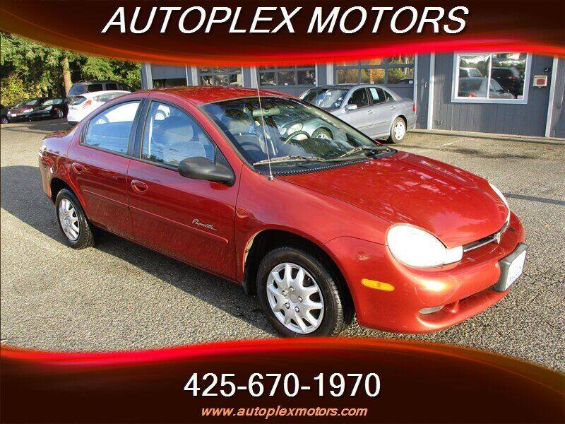 2001 Plymouth Neon for sale in Lynnwood, WA