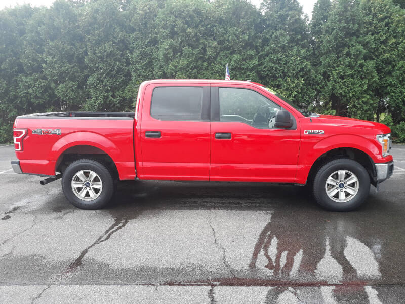 2018 Ford F-150 for sale at Feduke Auto Outlet in Vestal NY
