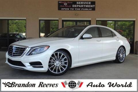 2014 Mercedes-Benz S-Class for sale at Brandon Reeves Auto World in Monroe NC