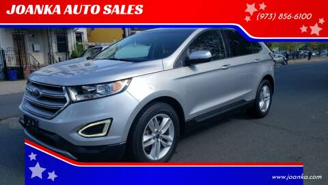 2015 Ford Edge for sale at JOANKA AUTO SALES in Newark NJ