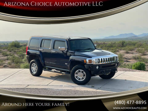 2007 HUMMER H3 for sale at Arizona Choice Automotive LLC in Mesa AZ