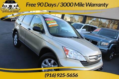 2009 Honda CR-V for sale at West Coast Auto Sales Center in Sacramento CA