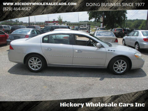 2008 Buick Lucerne for sale at Hickory Wholesale Cars Inc in Newton NC