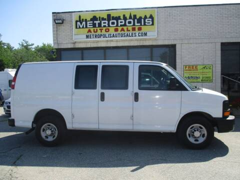 2017 Chevrolet Express Cargo for sale at Metropolis Auto Sales in Pelham NH