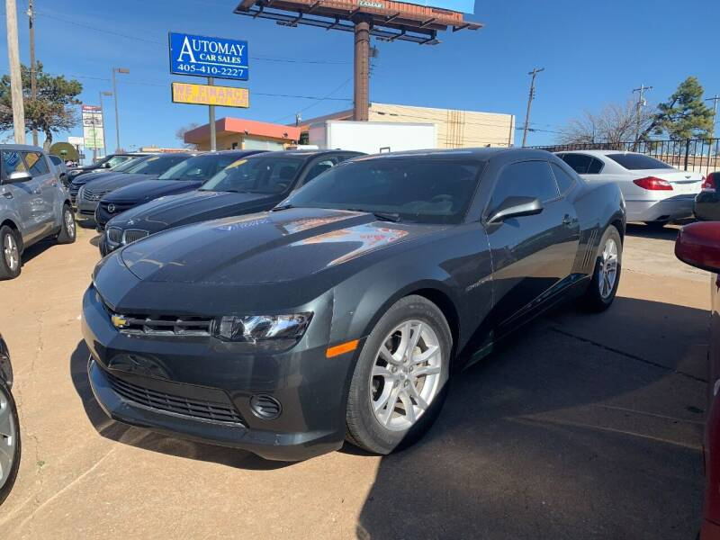 2015 Chevrolet Camaro for sale at Automay Car Sales in Oklahoma City OK