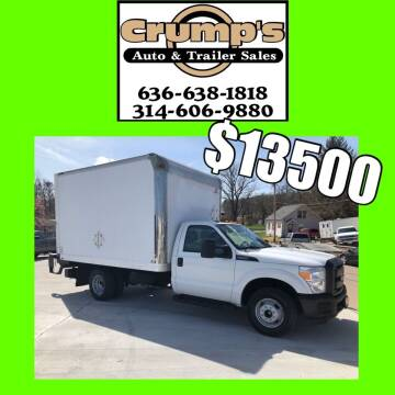 2015 Ford F-350 Super Duty for sale at CRUMP'S AUTO & TRAILER SALES in Crystal City MO