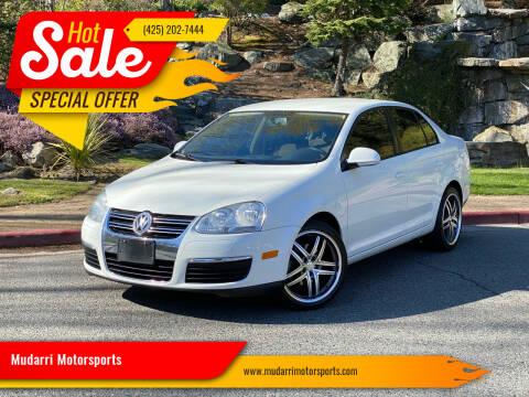 2008 Volkswagen Jetta for sale at Mudarri Motorsports in Kirkland WA