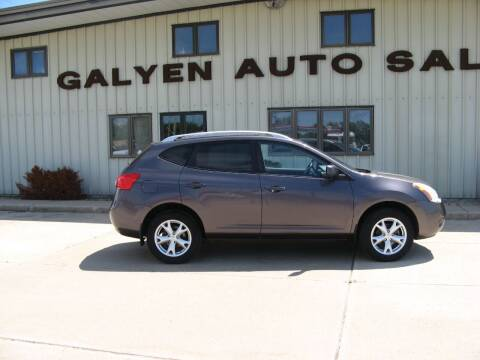 2009 Nissan Rogue for sale at Galyen Auto Sales Inc. in Atkinson NE