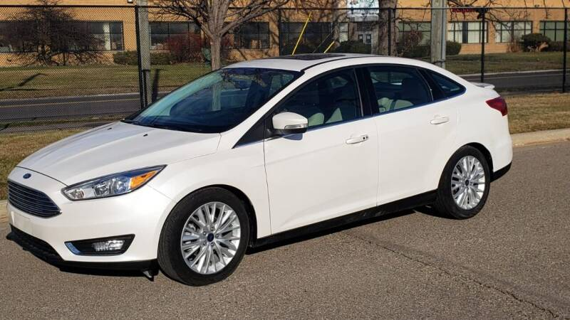 2018 Ford Focus for sale at Yousif & Sons Used Auto in Detroit MI