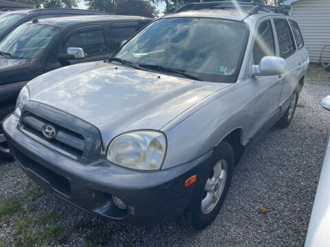 2005 Hyundai Santa Fe for sale at Trocci's Auto Sales in West Pittsburg PA