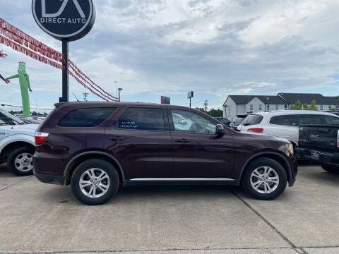 2012 Dodge Durango for sale at Direct Auto in D'Iberville MS
