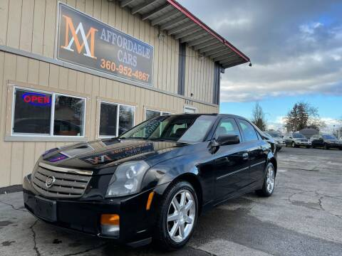 2004 Cadillac CTS for sale at M & A Affordable Cars in Vancouver WA
