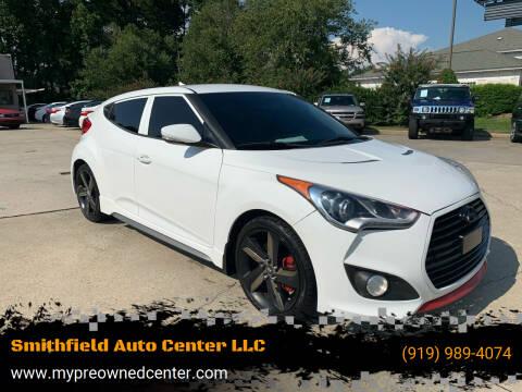 2015 Hyundai Veloster for sale at Smithfield Auto Center LLC in Smithfield NC