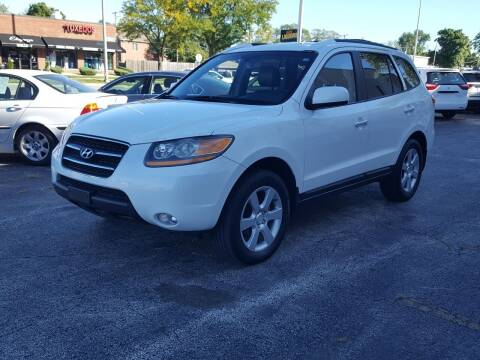 2008 Hyundai Santa Fe for sale at AUTOSAVIN in Elmhurst IL