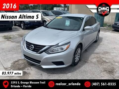 2016 Nissan Altima for sale at Real Car Sales in Orlando FL