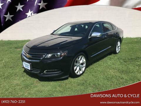 2016 Chevrolet Impala for sale at Dawsons Auto & Cycle in Glen Burnie MD