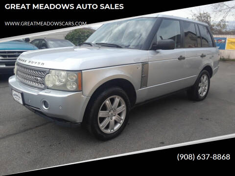 2006 Land Rover Range Rover for sale at GREAT MEADOWS AUTO SALES in Great Meadows NJ
