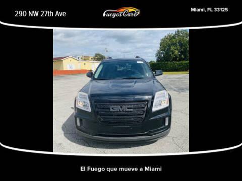 2017 GMC Terrain for sale at Fuego's Cars in Miami FL