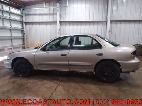 2002 Chevrolet Cavalier for sale at East Coast Auto Source Inc. in Bedford VA