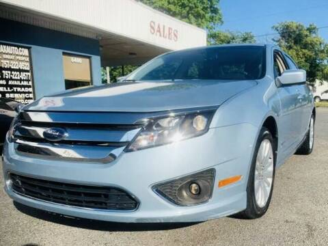 2010 Ford Fusion Hybrid for sale at Trimax Auto Group in Norfolk VA