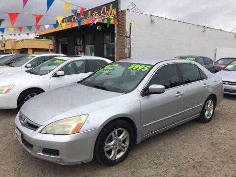 2006 Honda Accord for sale at Golden Coast Auto Sales in Guadalupe CA