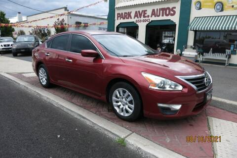 2015 Nissan Altima for sale at PARK AVENUE AUTOS in Collingswood NJ
