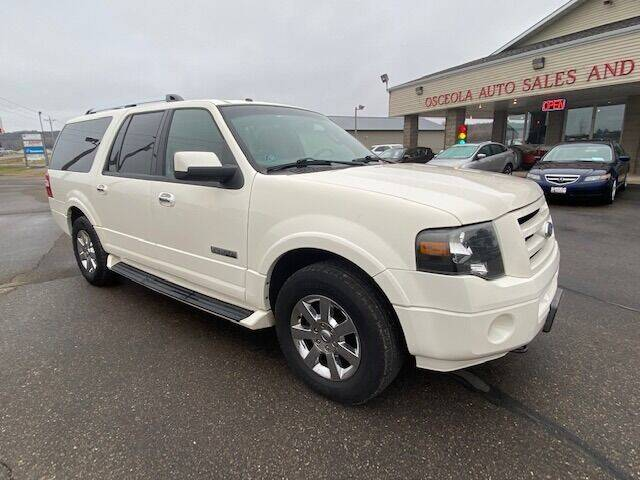 2007 Ford Expedition EL for sale at Osceola Auto Sales and Service in Osceola WI