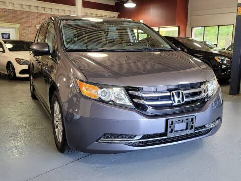 2014 Honda Odyssey for sale at AW Auto & Truck Wholesalers  Inc. in Hasbrouck Heights NJ