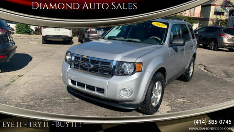 2011 Ford Escape for sale at Diamond Auto Sales in Milwaukee WI