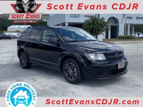2018 Dodge Journey for sale at SCOTT EVANS CHRYSLER DODGE in Carrollton GA