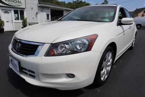 2010 Honda Accord for sale at Randal Auto Sales in Eastampton NJ