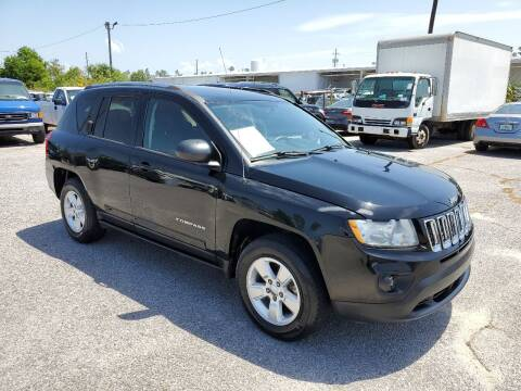 2013 Jeep Compass for sale at Jamrock Auto Sales of Panama City in Panama City FL