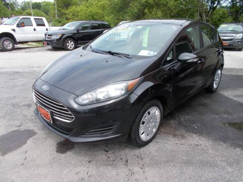 2015 Ford Fiesta for sale at Careys Auto Sales in Rutland VT