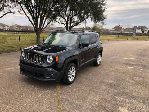 2017 Jeep Renegade for sale at Orange Auto Sales in Houston TX