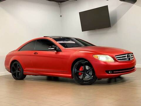 2008 Mercedes-Benz CL-Class for sale at Texas Prime Motors in Houston TX