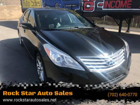 2013 Hyundai Azera for sale at Rock Star Auto Sales in Las Vegas NV