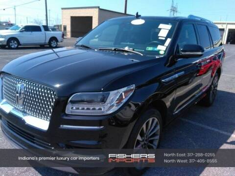 2020 Lincoln Navigator for sale at Fishers Imports in Fishers IN