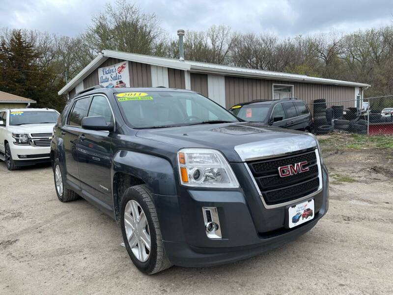 2011 GMC Terrain for sale at Victor's Auto Sales Inc. in Indianola IA