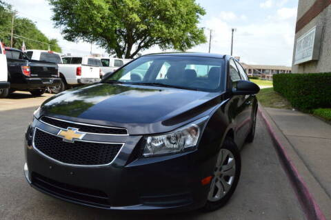 2014 Chevrolet Cruze for sale at E-Auto Groups in Dallas TX