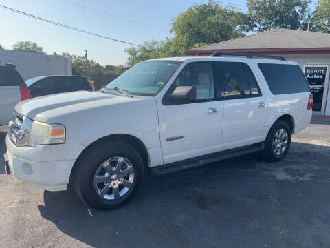 2008 Ford Expedition EL for sale at Elliott Autos in Killeen TX