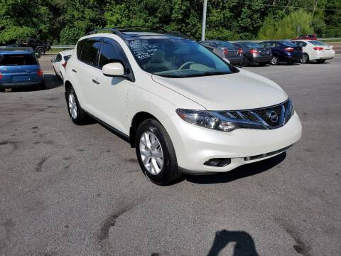 2013 Nissan Murano for sale at DISCOUNT AUTO SALES in Johnson City TN