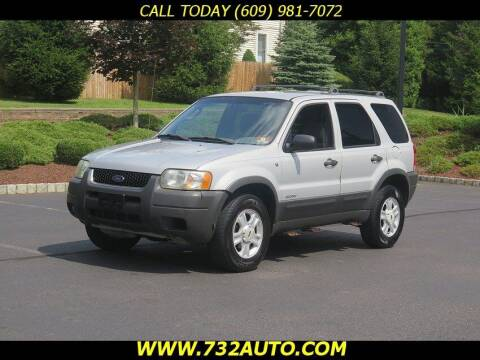 2002 Ford Escape for sale at Absolute Auto Solutions in Hamilton NJ